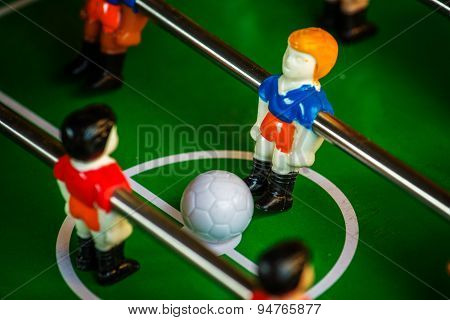 Table Soccer Or Football Kicker Game