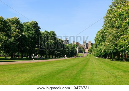 Long Walk of Windsor Castle's park