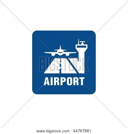Vector Airport sign