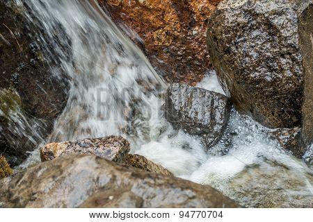 Rocks And Rushing Water