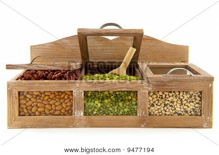 Legumes In Shop Shelf