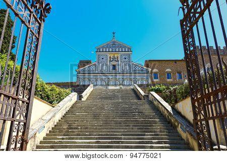 Basilica San Miniato al Monte in Florence, Italy