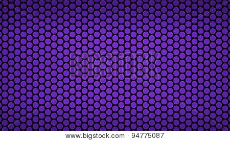Pattern Background With Repetitive Circles