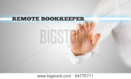 Highlighted Words Reading Remote Bookkeeper