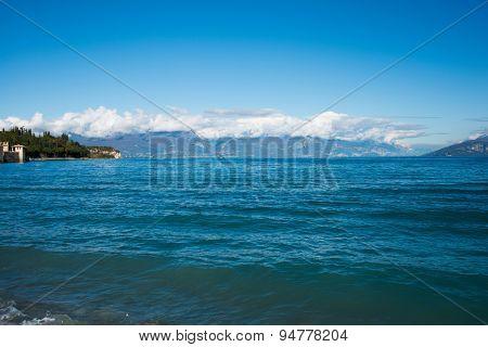 Lake Garda in Northen Italy