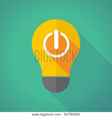 Long Shadow Light Bulb With An Off Button