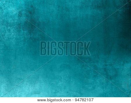Blue green background texture in grunge style