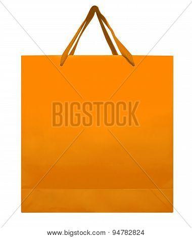 Paper Bag - Orange