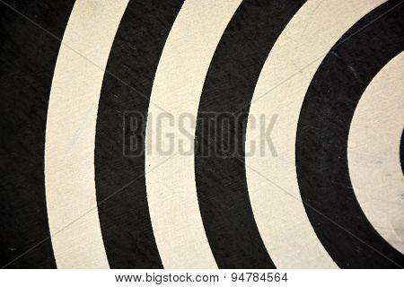 Target Darts As A Background. Closeup View