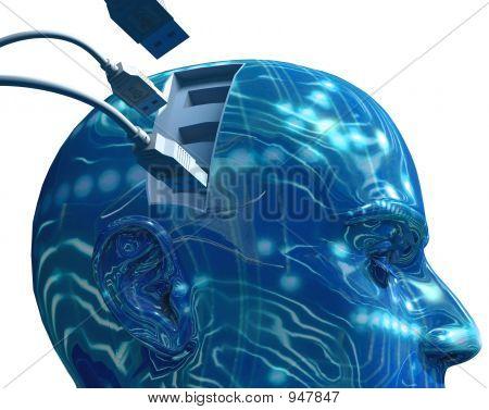 USB-Gehirn-Slots