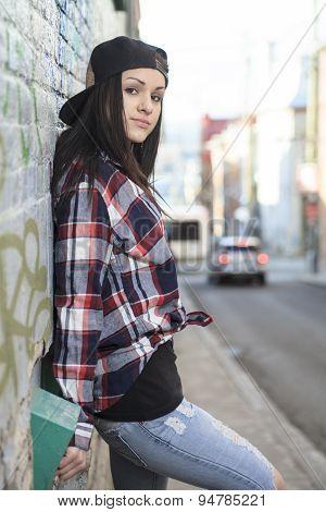 Teen cap street