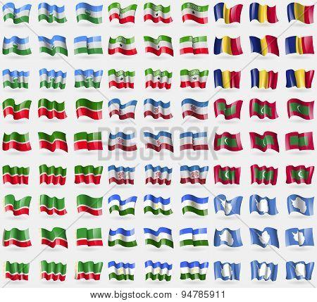 Kabardinobalkaria, Somaliland, Romania, Tatarstan, Mari El, Maldives, Chechen Republic, Bashkortosta