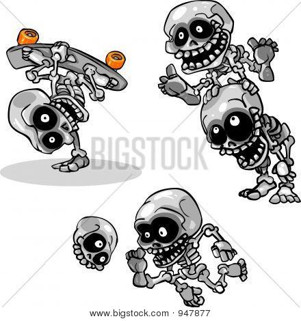 Playful Skeletons
