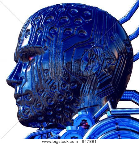 Cyber Male Head