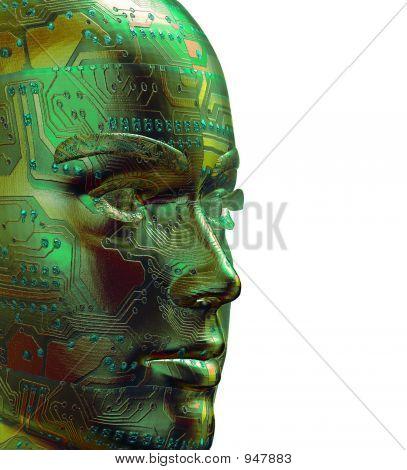 Cyber-Gesicht