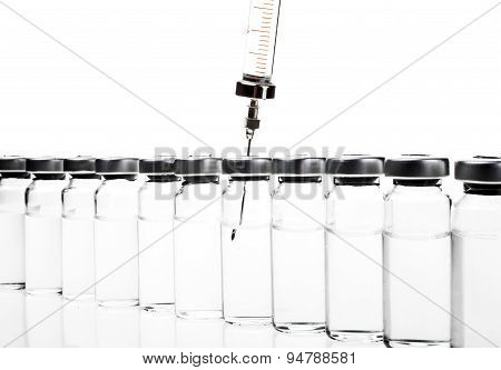 Vial And Syringe