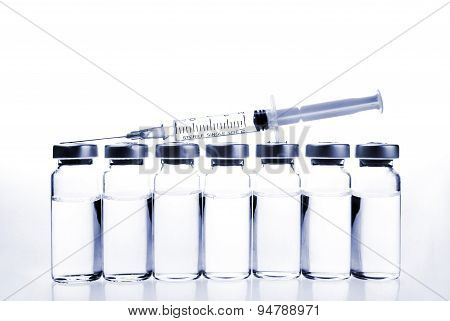 Vials And Syringe