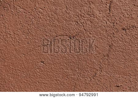 Red Painted Cement Texture