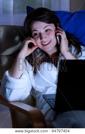 Gossiping On Phone
