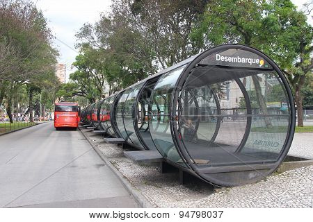 City Bus In Brazil
