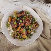pic of meatball  - Meatballs With Rice And Zucchini - JPG