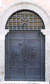 Medieval front door