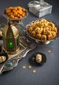 pic of special occasion  - Eid and ramadan festive food and elements - JPG