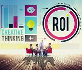 pic of revenue  - Return On Investment Financial Management Revenue Concept - JPG