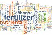 foto of enzyme  - Background concept wordcloud illustration of fertilizer - JPG