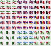 stock photo of algeria  - Iran United Kindom Udmurtia USA Kabakh Republic Andorra Algeria KabardianoBalkaria Abkhazia - JPG