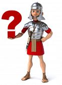 stock photo of legion  - Roman soldier - JPG