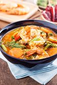 pic of tamarind  - hot and sour curry with tamarind sauce - JPG
