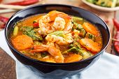 picture of tamarind  - hot and sour curry with tamarind sauce - JPG