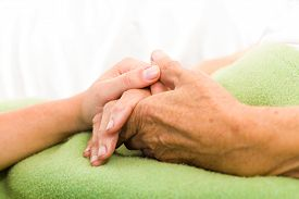 picture of nursing  - Health care nurse caring for elderly concept  - JPG