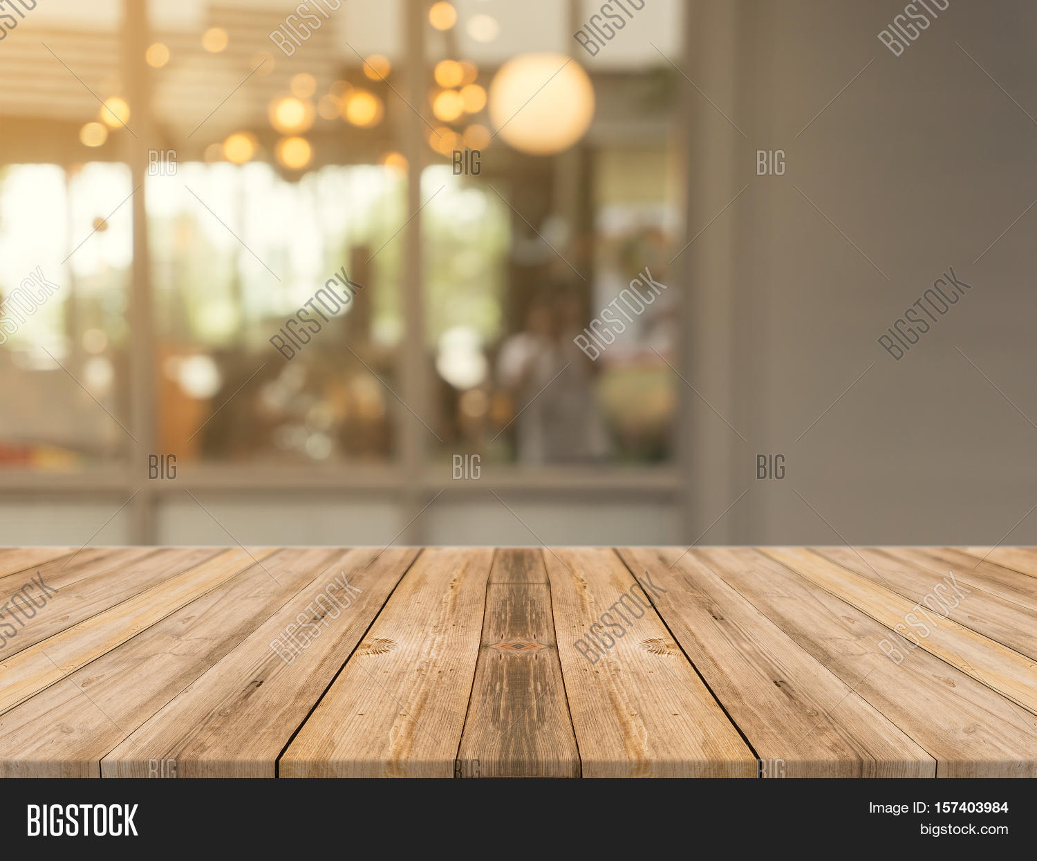 Interior Design For Kitchen And Dining Wooden Board Empty Table Top On Image Amp Photo Bigstock