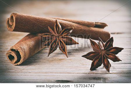Cinnamon (cassia) Sticks And Anise
