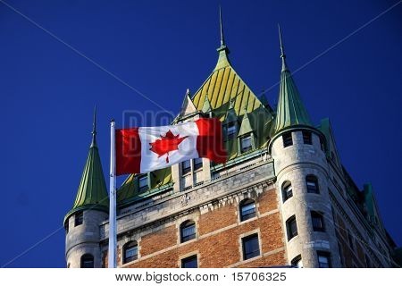 Quebec City most famous landmark, Chateau Frontenac