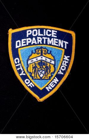 Shoulder Patch Of New York Police Department