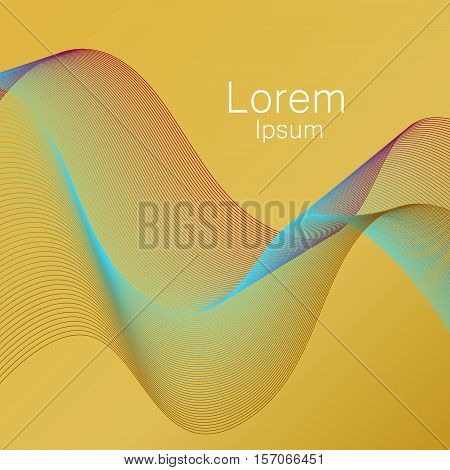 Mesh background abstract design. Smooth abstract colorful backgrounds mesh line technology set. Modern graphic light backdrop mesh background. Futuristic geometric motion line pattern vector.