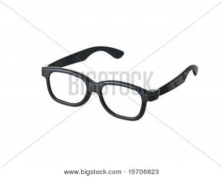 Vidrios negros divertidos geek
