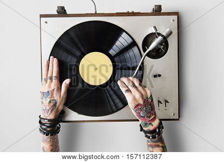 Playing Sound Audio Music Rhythm Art Melody Concept