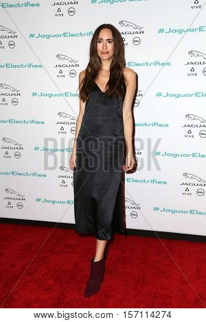 LOS ANGELES - NOV 14:  Louise Roe at the Unveiling Next Era Jaguar Vehicle at Milk Studios on November 14, 2016 in Los Angeles, CA