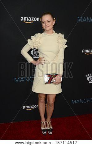 LOS ANGELES - NOV 14:  Anna Baryshnikov at the