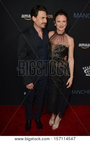 LOS ANGELES - NOV 14:  Brad Wilk, Juliette Lewis at the
