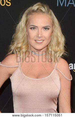 LOS ANGELES - NOV 14:  Victoriah Bech at the