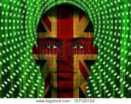 Modern UK Man   3D Render