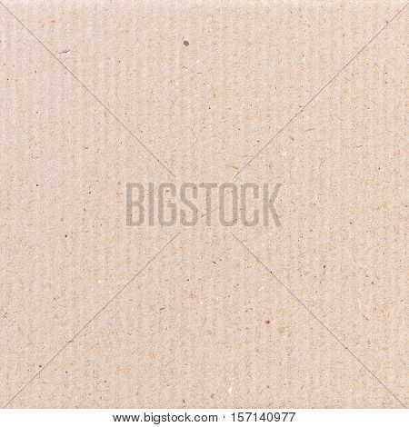 Corrugated paper cardboard texture or corrugated paper background for design with copy space for text or image.