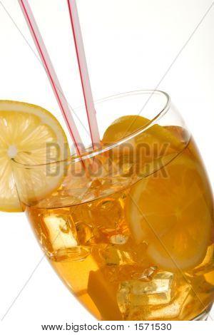 Closeup Of Iced Tea