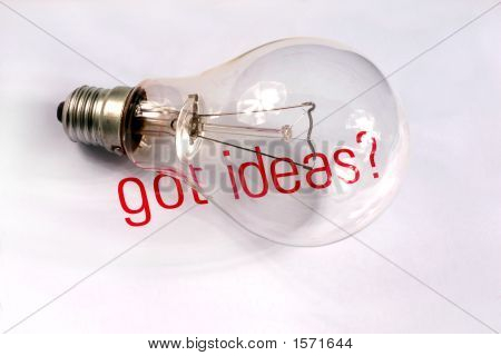 Got Ideas And Lightbulb