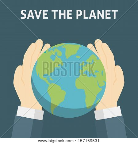 Save The Planet, Save The Earth illustration